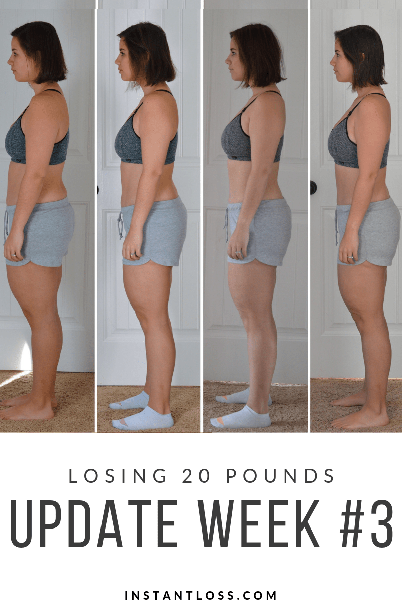 Losing 20 Pounds Update Week 3 Instant Loss Conveniently Cook Your Way To Weight Loss