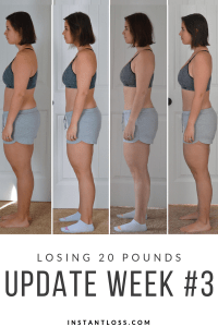 Losing 20 Pounds Week 3 instantloss.com