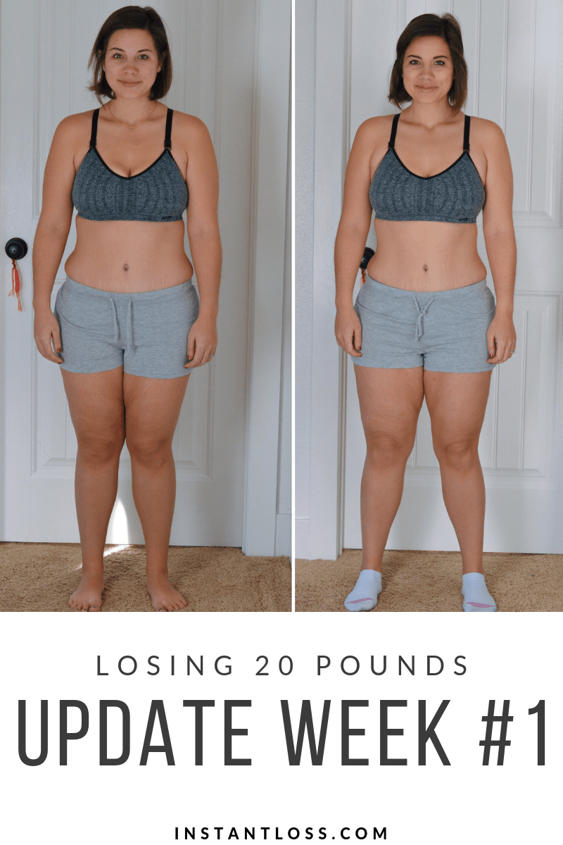 Losing 9 Pounds/Update Week #9 - Instant Loss - Conveniently Cook