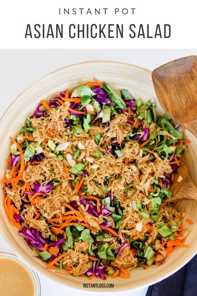 Instant Pot Asian Chicken Salad instantloss.com