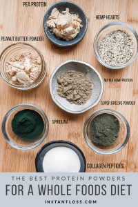 The Best Protein Powders For A Whole Foods Diet instantloss.com