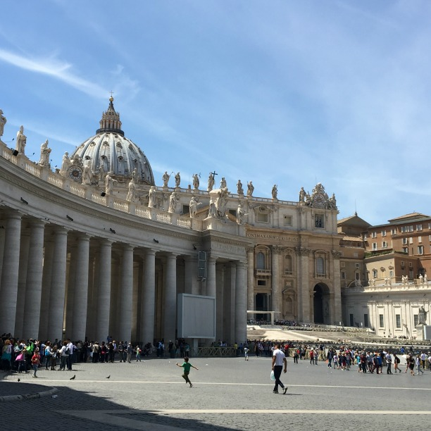 Rome in one day, Piazza San Pietro