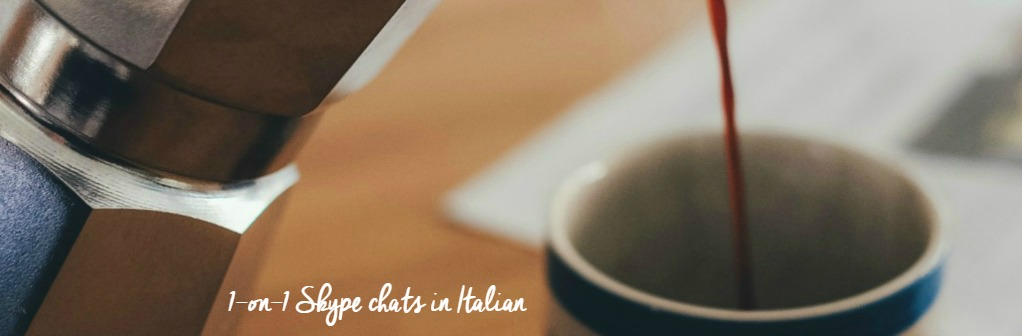 You can practice and improve your Italian chatting with a native speaker