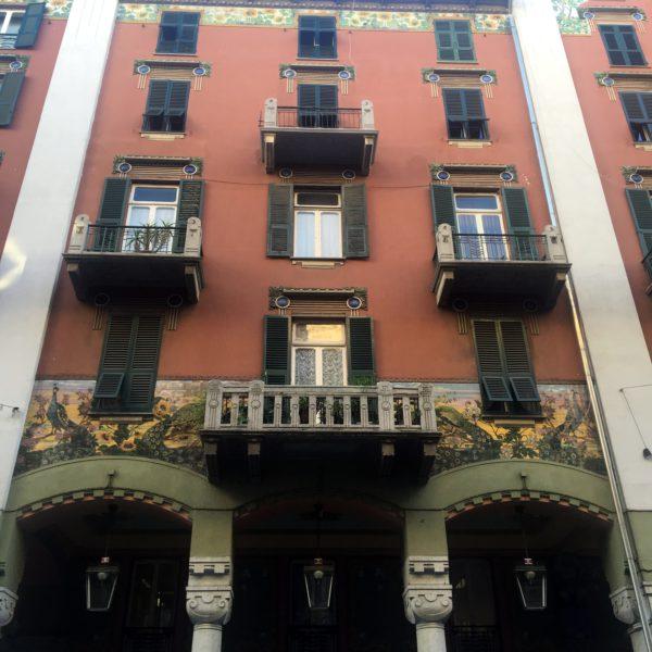 Visit Savona in one day, Palazzo dei Pavoni