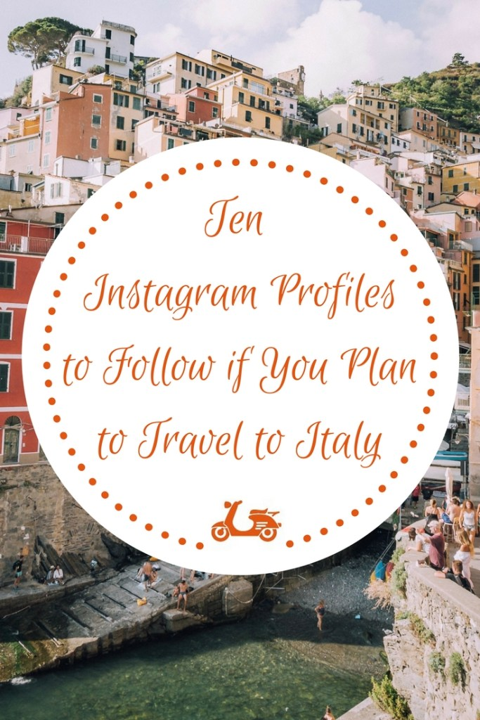 Instagram is a great tool to be inspired and find information when it comes to traveling. In this post, you'll find some of my favorite Instagram accounts about Italy and its culture.