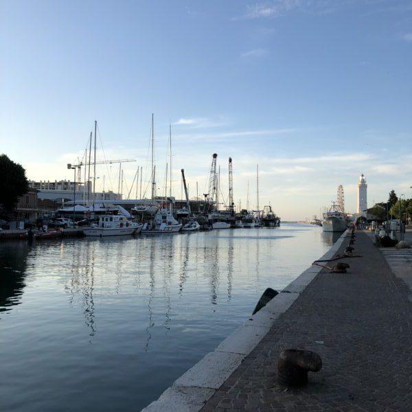 Rimini, the harbour