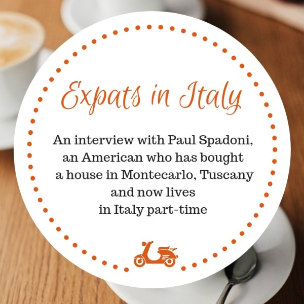 In this post, I chat with Paul Spadoni about buying property in Italy and living in the country part-time (plus many other things!)