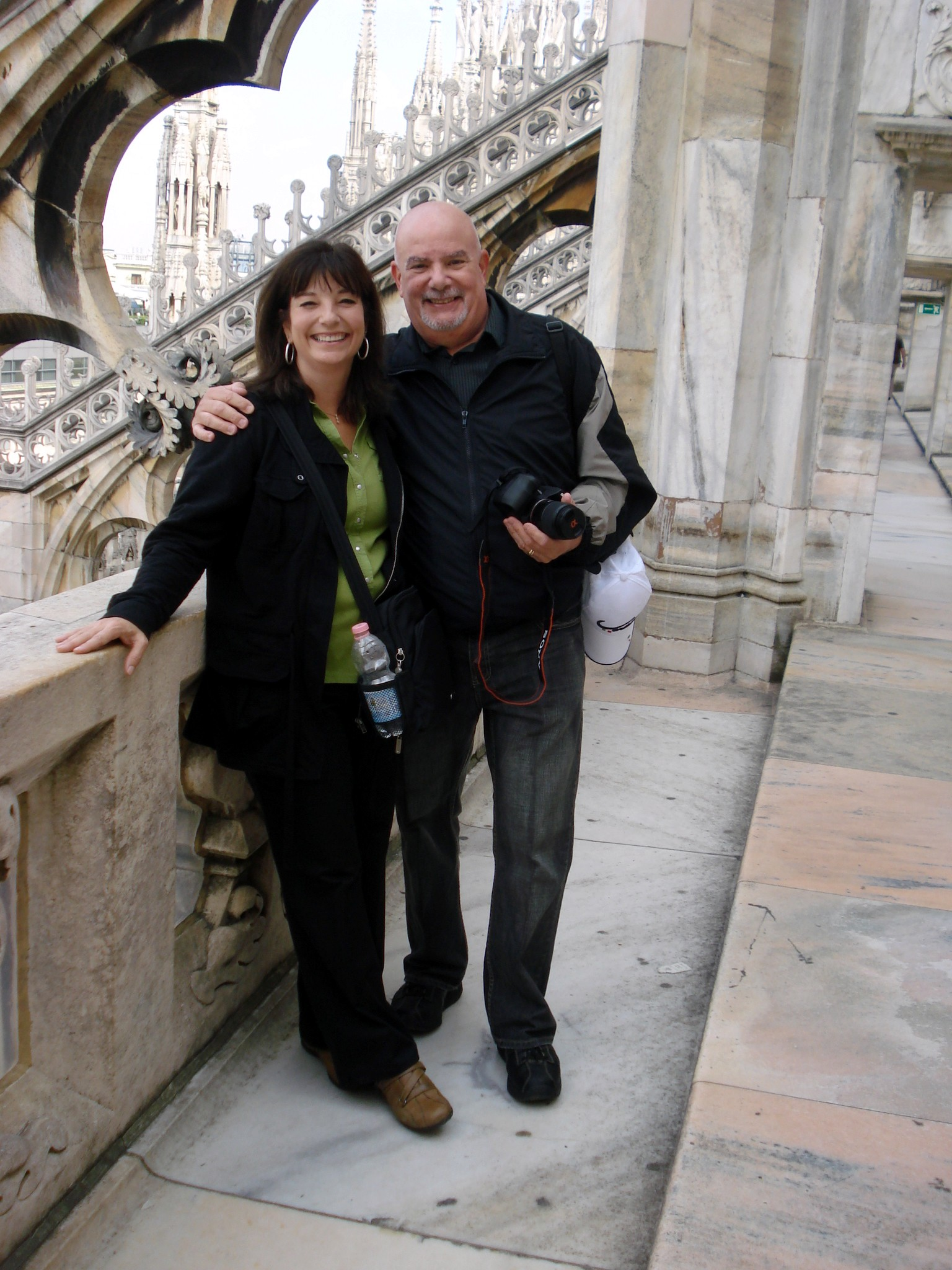 Ilene and Gary Modica, together in Milano