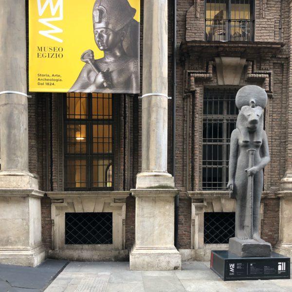 Museo Egizio, the entrance