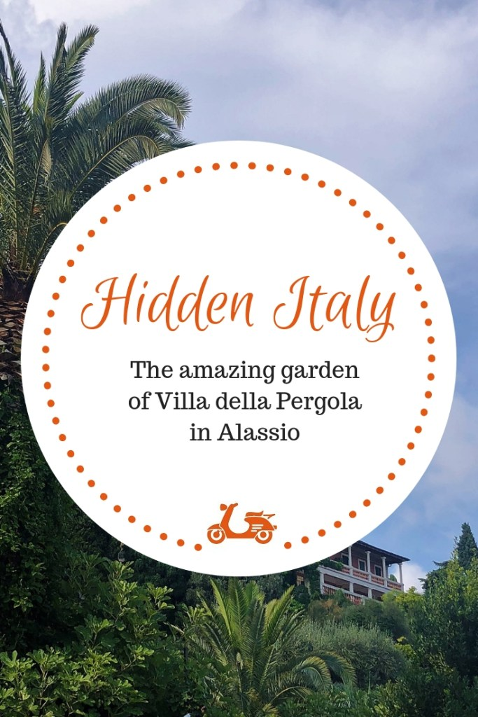 In today's post, I take you with me to visit one of the most beautiful Italian gardens: Villa della Pergola in Alassio