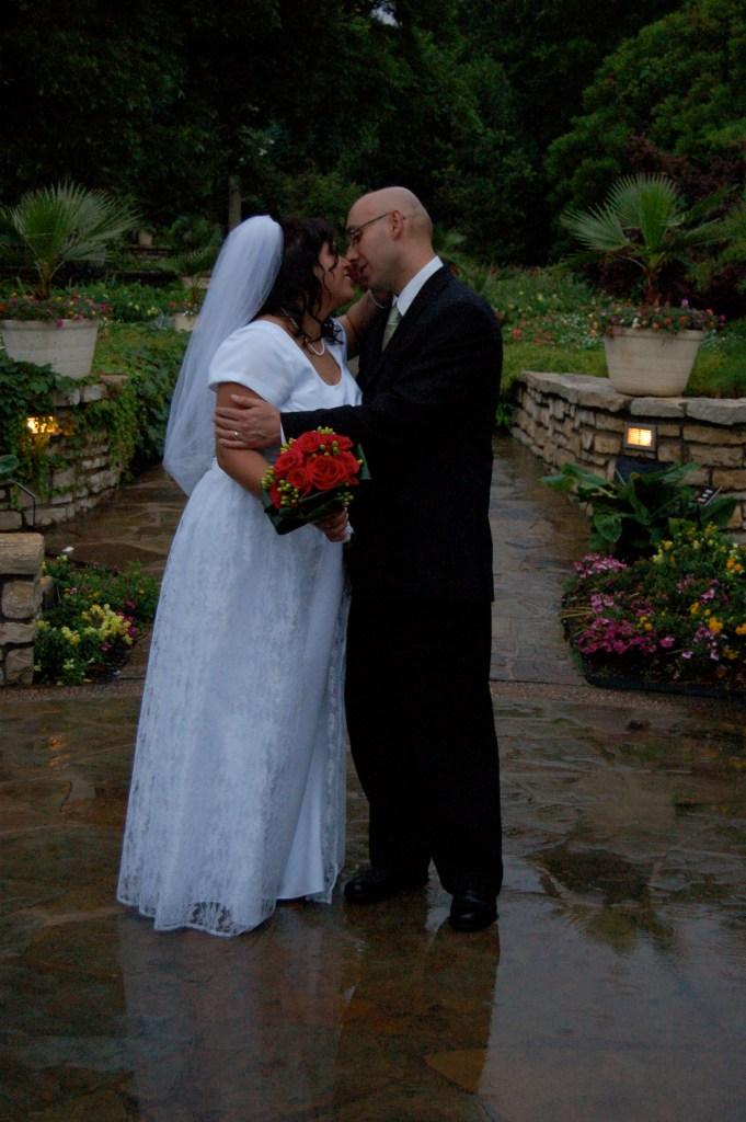 Sonia Piacente, wedding day