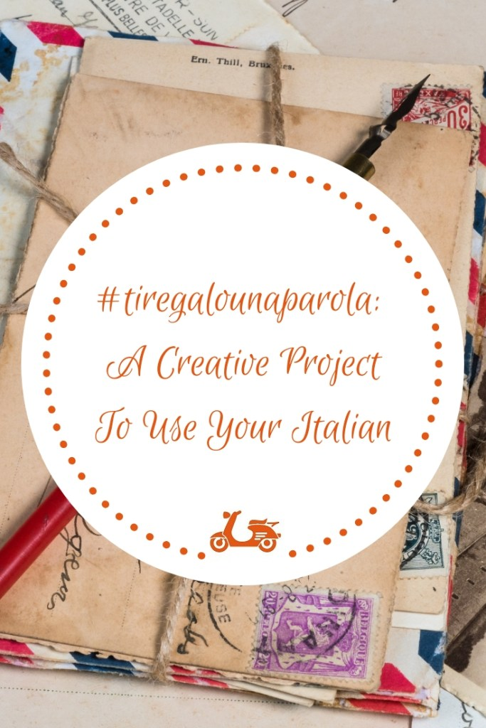 Learning a language is fun but the real fun begins when you need to use it. In this post, you'll find a creative project to practice your Italian and make new friends.