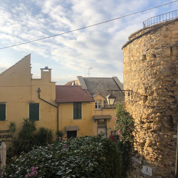 Cervo, a view of the houses