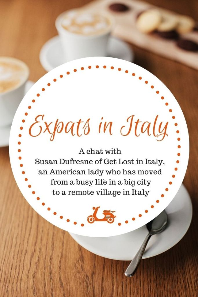 Today I chat with Susan Dufresne about life in Guardia Sanframondi, a small village in Campania, Italy