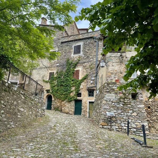 Castelvecchio: a view of the center