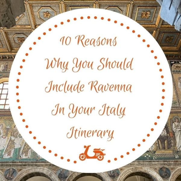 In this post, you'll find a list of ten reasons to visit Ravenna the next time you come to Italy
