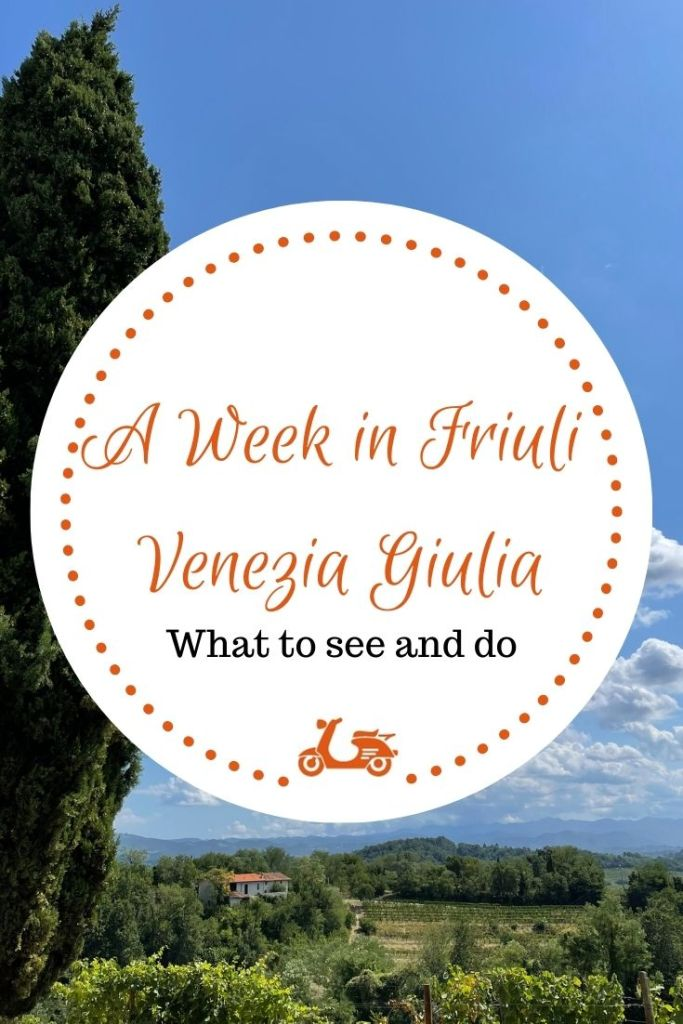 I have recently spent a week in Friuli Venezia Giulia, one of the lesser-known Italian regions and this post is an account of my trip
