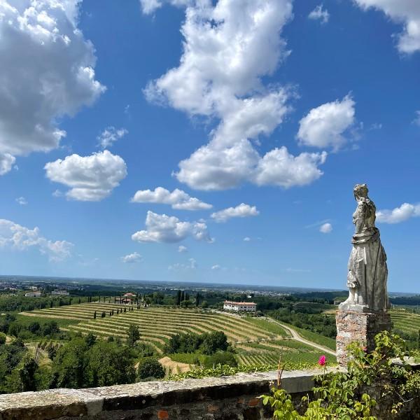 The wine region seen from Abbazia di Rosazzo