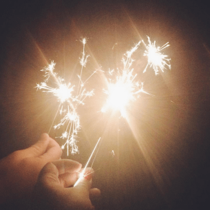 Sparklers are for adults too