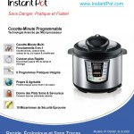 Instant Pot features in French
