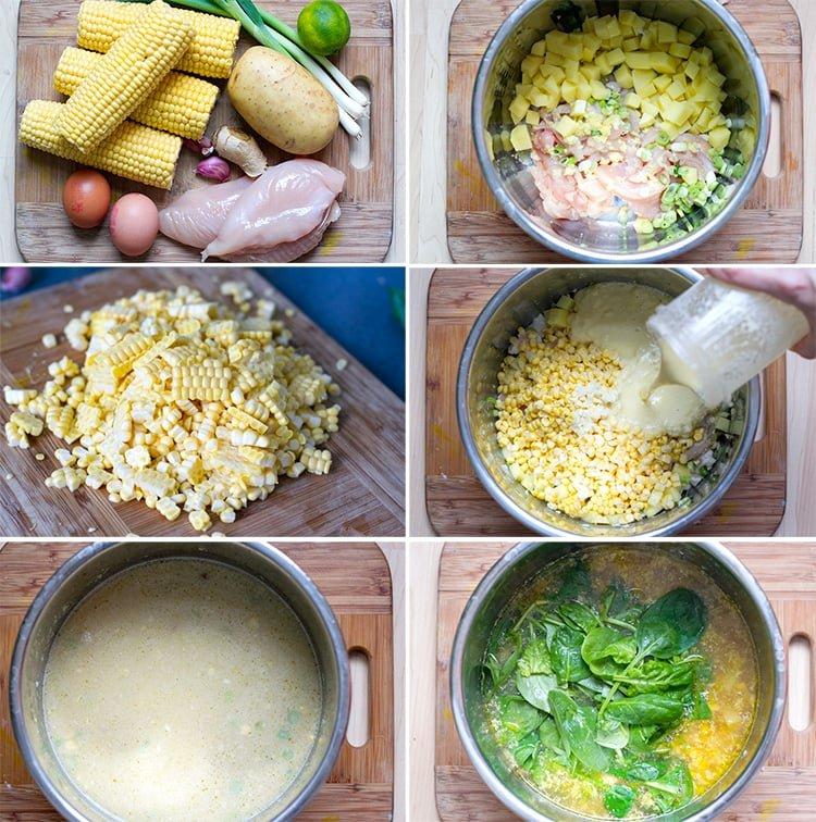 Instant Pot Chicken & Corn Soup
