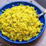 Yellow Rice With Peas & Corn (Instant Pot Recipe)