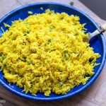 Yellow Rice With Peas & Corn (Instant Pot Recipe)