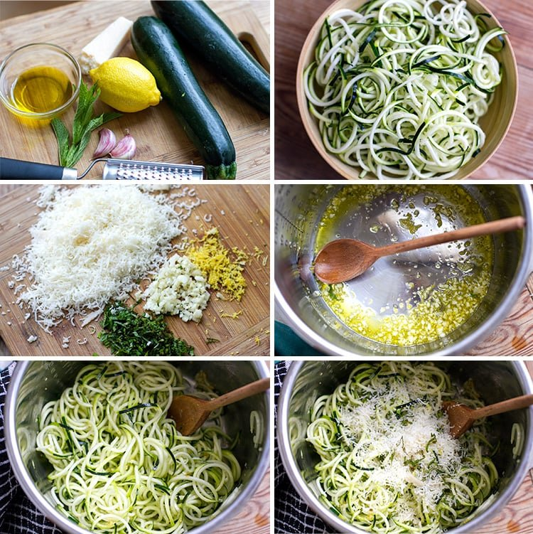 Making Zucchini Noodles In The Instant Pot