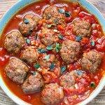 Instant Pot Italian Tomato Meatballs (Whole30, Paleo, Gluten-Free)