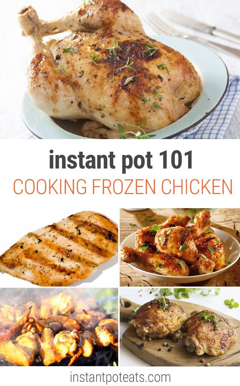 frozen chicken breasts instant pot