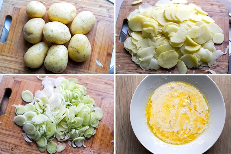 How to make Instant Pot scalloped potatoes and leeks
