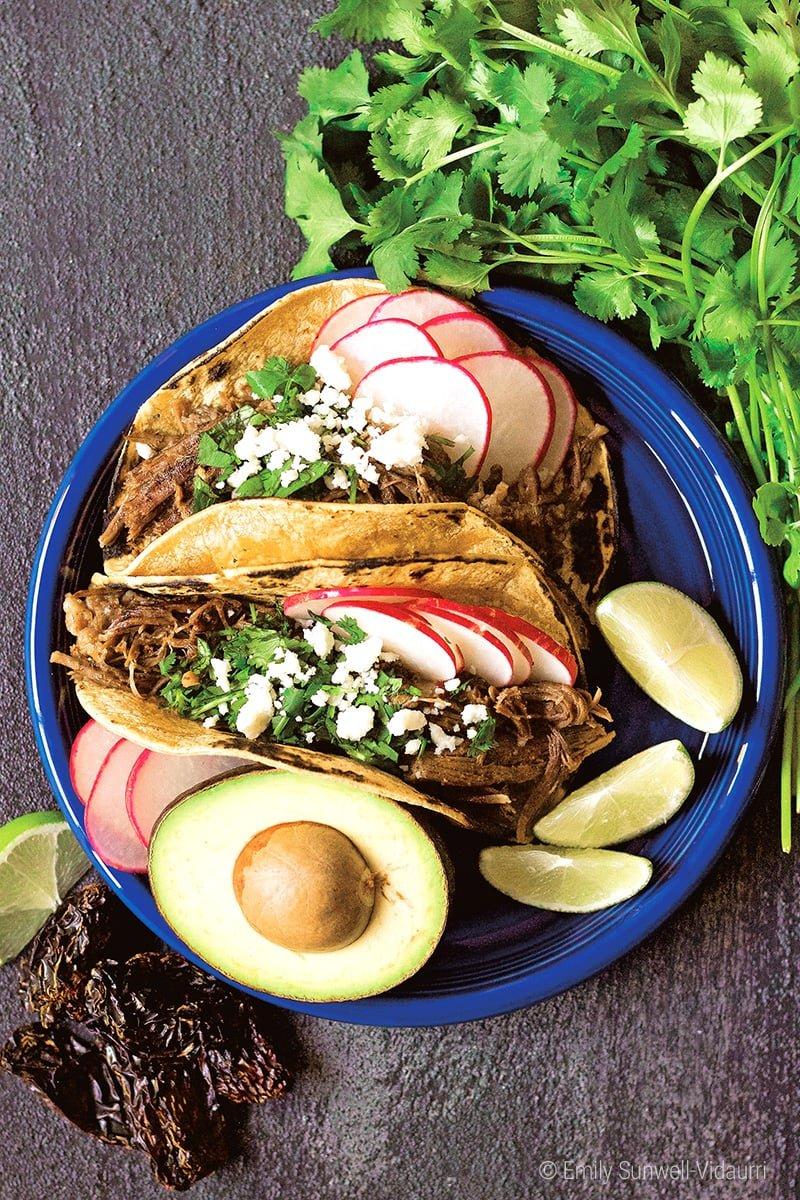 Instant Pot Shredded Beef Tacos Recipe