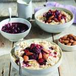 Instant Pot Cooking for Two Steel Cut Oatmeal with Cranberries & Almonds