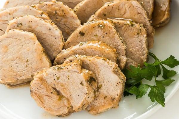 Instant Pot Pork Tenderloin Garlic Herb Rub The Recipe Rebel