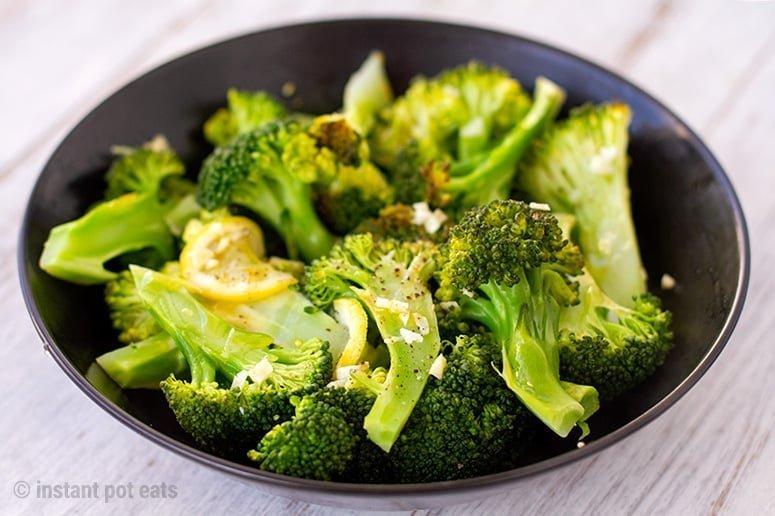 Instant Pt Steamed Broccoli