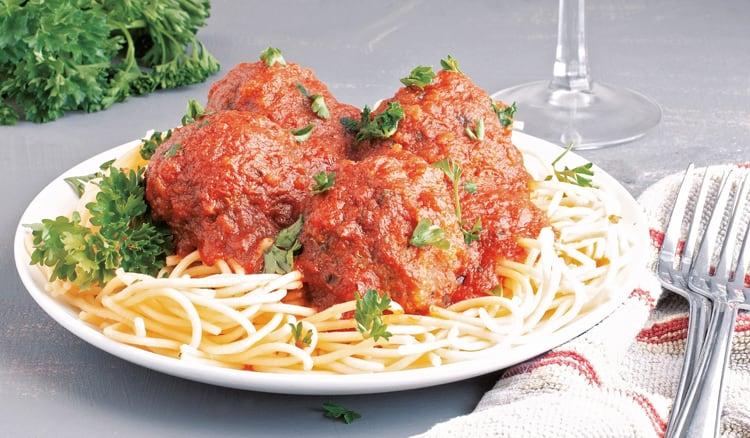 Instant Pot Meatballs Spaghetti (gluten-free, allergy-friendly, kids meals)