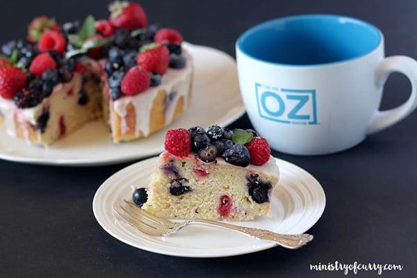 35+ Summer Friendly Instant Pot Recipes Berry Cake