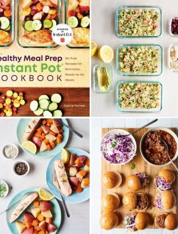 healthy meal prep instant pot cookbook review
