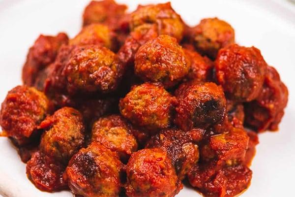 15-Minute Instant Pot Italian Meatballs (from Frozen)