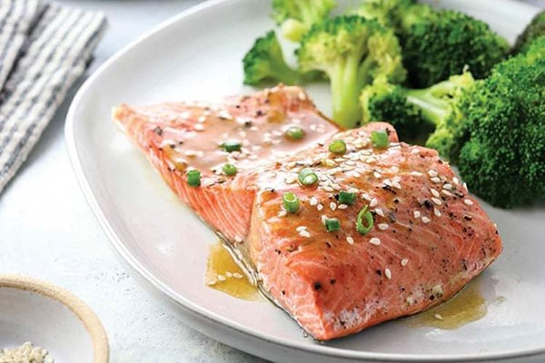 Ginger Soy Salmon From Fresh or Frozen