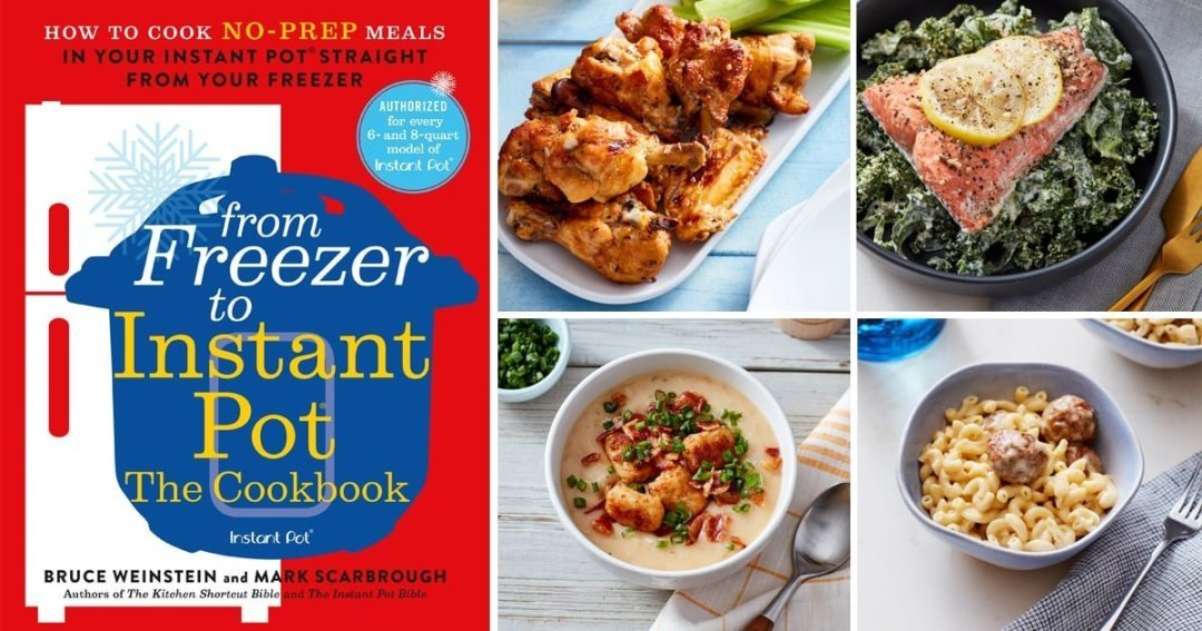 Cookbook Review: From Freezer to Instant Pot