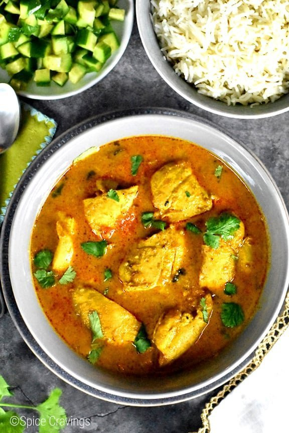 Instant Pot Chicken Curry Indian Style (Made With Rice At The Same Time)