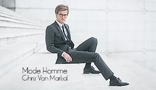 Chris Von Martial | Shooting Mode Homme La Défense