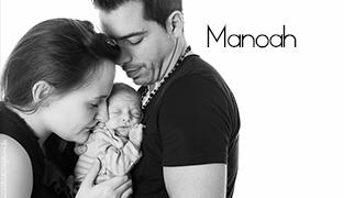 Photographe bébé et Nouveau-né Studio Paris – Manoah