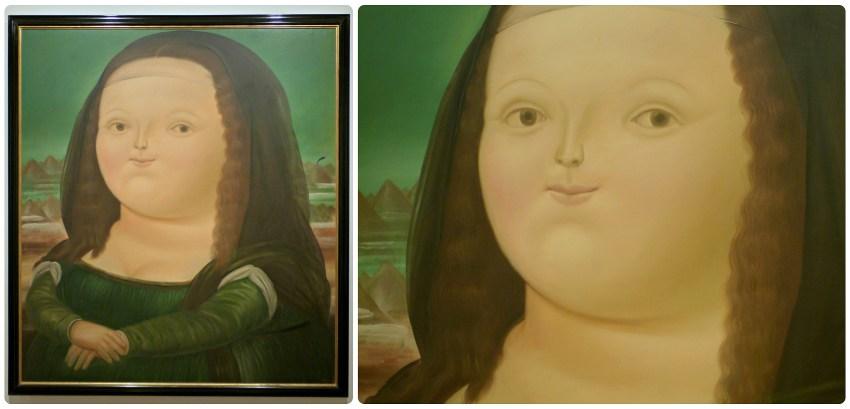 Tableau du Musée Botero de Bogotá