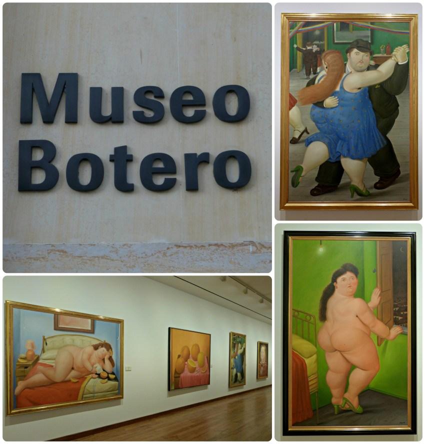 Tableau de Botero du Musée de Botero de Bogotá