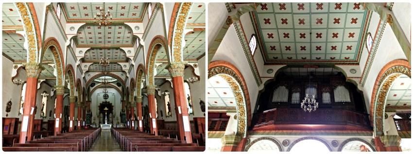 Parroquia de la Inmaculada Concepción en la plaza principal de Aguadas