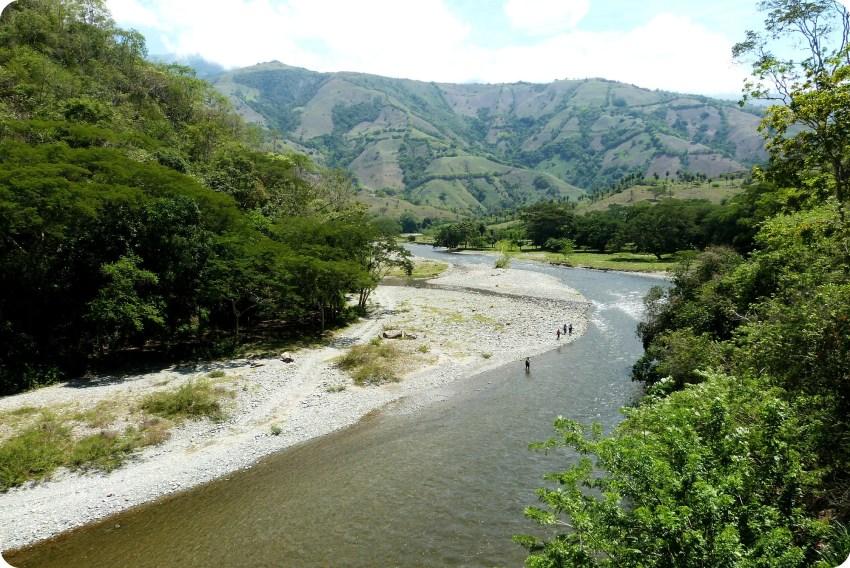 Río Arma en la ruta entre Manizales y Aguadas