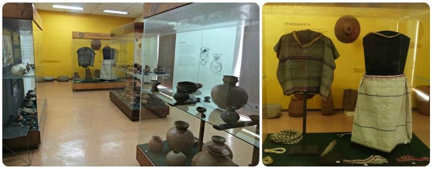 Sala del Museo de historia natural de Popayán