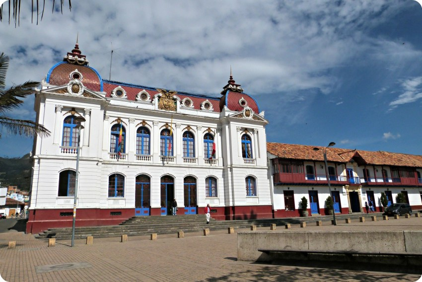 Edificio del palacio municipal de Zipaquira